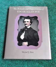 PORTRAITS & DAGUERREOTYPES OF EDGAR ALLAN POE BOOK MICHAEL DEAS PHOTOS 1ST EDIT