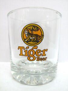 "Tiger Beer Glass vgc (3 1/2"" x 3 1/8"")"