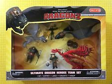 HOW TO TRAIN YOUR DRAGON 2 ULTIMATE HEROES TEAM 6 FIGURE SET STORMFLY TOOTHLESS