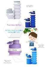 Snabble Retractable Collapsible Silicon Water / Drink Bottle