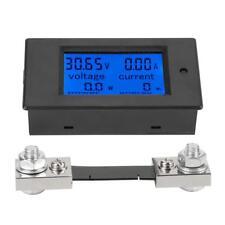 Digitale DC 100A Misuratore Elettrico Wattmetro Voltmetro Amperometro+50A Shunt
