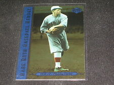 BABE RUTH YANKEES HOF 1995 UPPER DECK 73 LIMITED EDITION AUTHENTIC BASEBALL CARD
