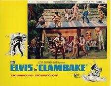 """Elvis Presley Clambake Movie Poster Replica 11x14"""" Photo Print"""