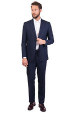 ENRICO COVERI Suit Size 54 / XXL Wool Blend Fully Lined Single Breasted RRP €685