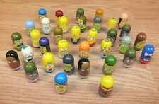 Mixed Lot of 35 Genuine Mighty Beanz Moose Simpsons Characters Collectible Toys