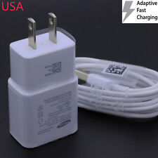 Adaptive Quick 2.0 Fast Home Travel Wall Charger For Samsung Galaxy S8 LG G5 V20