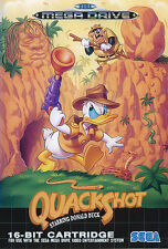 ## SEGA Mega Drive - Quackshot Starring Disney´s Donald Duck / MD Spiel ##