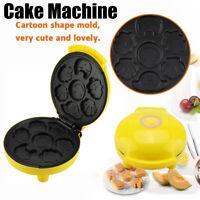 Non-stick Cartoon Electric Cake Maker Cake Machine Snake Mold DIY Baking Tool US