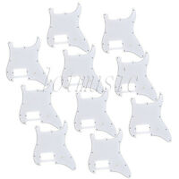 10 Pcs Pickguard With 1 Humbucker for Electric Guitar Fender Strat Stratocaster