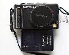 Panasonic LUMIX DMC-LX3 10.1MP 720P RAW Black Digital Camera