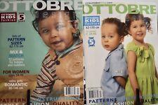 Ottobre Design Magazine Spring & Summer 2005 Children's Sewing Patterns Dresses