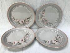 "Denby Tivoli Set of 4 x Side Tea Bread Plates Plate 6.75"" dia Excellent (A)"