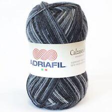 Adriafil Calzasocks Sock Yarn - Multi-Grey (050)