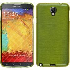 Custodia in Silicone Samsung Galaxy Note 3 Neo brushed verde pastello