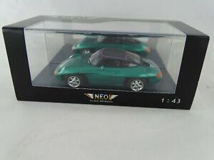 1:43 Neo Scale Models #44585 Porsche 1989 Pan Americana Verde Nuevo/Emb.orig
