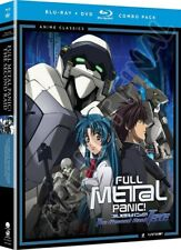 Full Metal Panic!: The Second Raid [New Blu-ray] Oversize Item Spilt , With DV