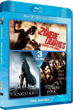The Zombie Diaries / Tsunami Warrior / Small Town Folk NEW Blu-Ray 2-Disc Set