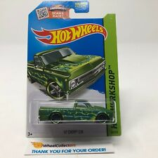 '67 Chevy C10 #208 * Green Kmart Only * 2015 Hot Wheels * G27