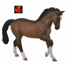 WARMBLOOD STALLION BAY - Horse Model by CollectA 88827 - New with tag