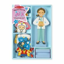 Kids Melissa and Doug Julia Magnetic Wooden Dress Up Pretend Play Set 3+ Years
