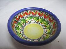 Italian ceramic bowl Ravello Italy small bowl red/blue/green