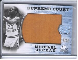 2010-11 SP AUTHENTIC MICHAEL JORDAN SUPREME COURT GAME USED FLOOR PATCH MJ-6