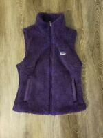 Patagonia Small Womens Los Gatos Fleece Vest Purple