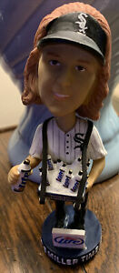 Chicago White Sox Miller Lite Female Beer Vendor Bobblehead It's Miller Time