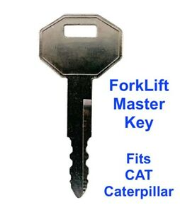 ForkLift Master Plant Key for CAT Caterpillar Forklifts Heavy Equipment