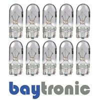10x 12V 5W T10 W5W W2,1x9,5 Glassockellampe Kennzeichenleuchte Standlichtlampe
