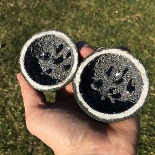 (1) Cobalt/Hematite Geode Specimen (Both Halves) - Very Nice & Very Unique