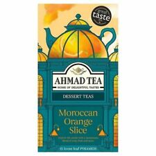 Ahmad Moroccan Orange Slice 5 Boxes of 15 Tea Bags   Free UK Delivery