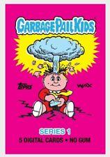Topps / Wax Unopened 5 Pack Of Garbage Pail Kids Digital Cards GPK