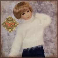 "WC0012A LONG SLEEVED DRESS12/"" LIA YURI YUMA BEATRICE RUBY RED GALLERIA DOLLS"