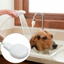 Dog Cat Pet Hair Shower Head Bath Hose Sink Faucet Washing Spray Wash Multi-use