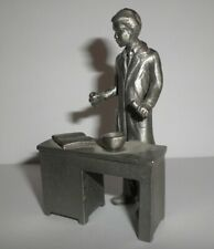 "Miniature Doctor Phamacist at Desk Figurine 3"" Gift"