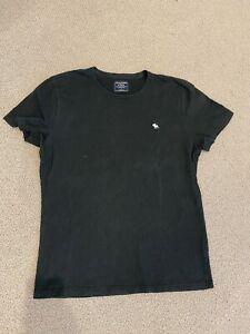 Abercrombie & Fitch Mens Tshirt Black Size L