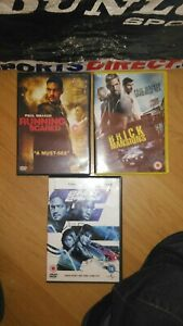 Paul Walker triplle box set Running Scared brick mansions 2 fast 2 furious