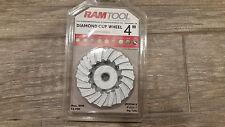 """Ram Tool 4"""" Diamond Cup Tool SPPSTC4N18"""