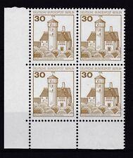 Berlin  1977 postfrisch Eckrand unten links MiNr. 535 Burgen und Schlösser
