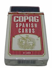COPAG PLAYING CARDS - SPANISH STYLE RED PLAYING DECK BRIDGE SIZE - FREE S/H *