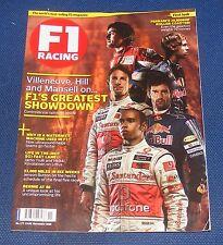 F1 RACING NOVEMBER 2010 - F1'S GREATEST SHOWDOWN