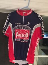 Giordana Fit For Fashion Alessio Alloy Wheels Cycling Bike Jersey Xl Italy Made