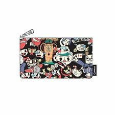 Loungefly Cuphead Zip Pouch, Cosmetic/Coin Bag, Pencil Pouch Cuphead Characters