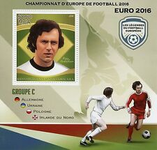 Madagascar 2016 MNH Euro 2016 Football Group C 1v S/S Beckenbauer Soccer Stamps