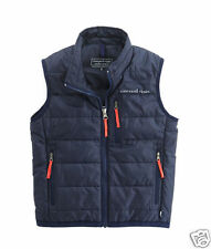 New/Tags VINEYARD VINES Box Quilt Mountain Weekend Vest! boys XL/20 (women's S)