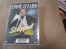 """DVD NEUF """"EDDIE IZZARD - STRIPPED LIVE A LA CIGALE"""" spectacle tout en Francais"""