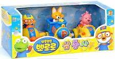 The Little Penguin Pororo, Eddy & Loopy 3pcs Wind-up Toy TV animation/Diecasting