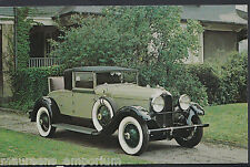 Motor Transport Postcard - 1930 Auburn Car - Model 8-95 Cabriolet    3503