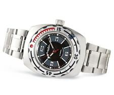 Vostok Amphibia 090510 Watch Military Diver Russian Automatic White